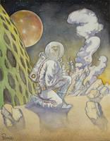 Spaceman by Panagosart