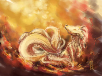 Ninetails  by jas7229