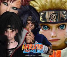 Untooned Naruto papiel by curi222