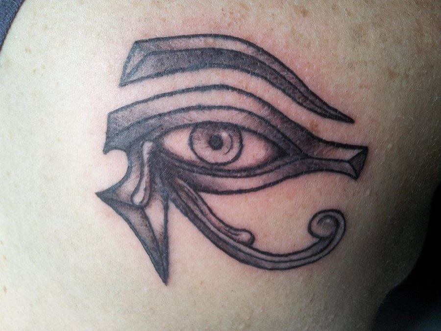 Ojo De Horus Eye Of Horus Tattoo By Curi222 On Deviantart