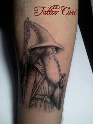 Gandalf Tattoo by curi222