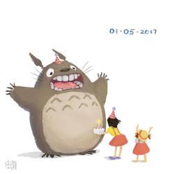 Hbd Miyazaki! by madebykit