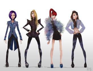 2NE1 by madebykit