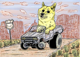 Comision Doge car by argentinor