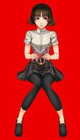 makoto niijima - summer uniform ver by Lukreva