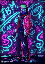 J/BM - SUPER/HEROES by NigthmareWolf