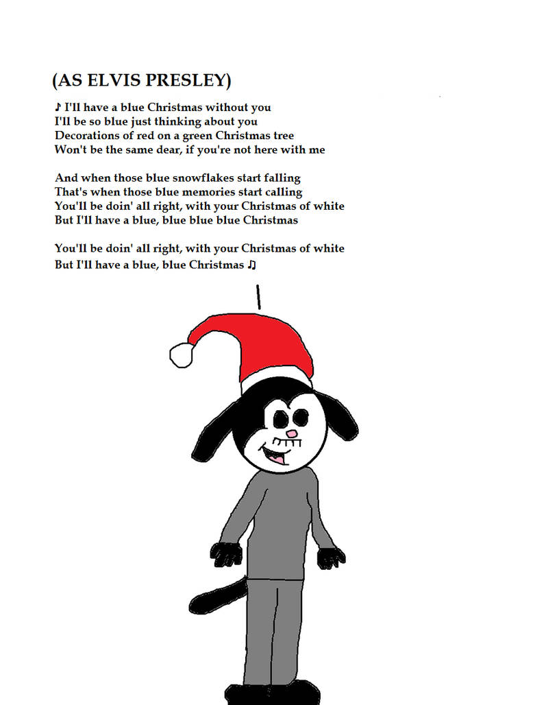 0ab4289b3 Robin as Elvis Singing Blue Christmas by MikeJEddyNSGamer89 on ...