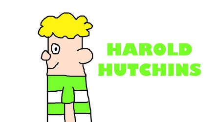 Harold Hutchins from Captain Underpants by MikeJEddyNSGamer89