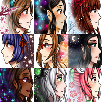 Icon Batch #1 by UxieWriter