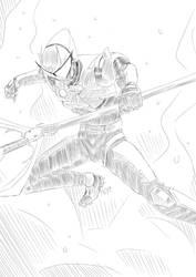 Free Sketch 1#: Strider by PeaceGuy