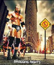 WWE bragging rights Poster 3 by nlove4ever