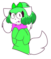 Random Character I Made That I Probably Wont Draw  by Ani-Melody