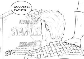 Stan Lee by CJRamosArt