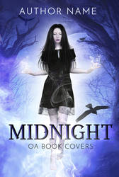 Midnight (Premade Book Cover) by oabookcovers