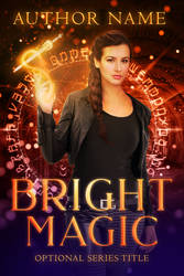 Bright Magic (Premade Book Cover) by oabookcovers