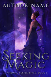 Seeking Magic (Premade Book Cover) by oabookcovers