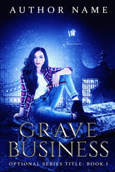Grave Business (Premade Book Cover) by oabookcovers