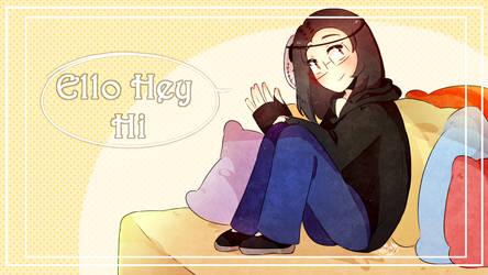 Ello Hey Hi(Speedpaint) by AthilahThePun
