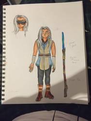 Jedi OC : Jaya Kar  by blackflower944