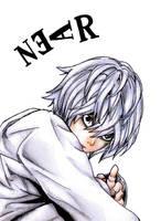 Death Note: Near by evilllama-polly