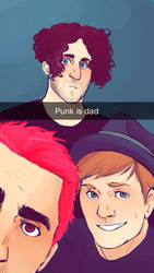 Punk Is Dad by Meglm5291