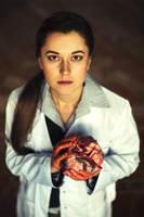 Sherlock BBC cosplay: Molly Hooper by NellieSchwarz