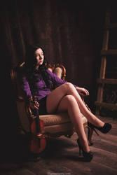 Ms. Holmes by NellieSchwarz