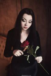 Morticia Addams by NellieSchwarz
