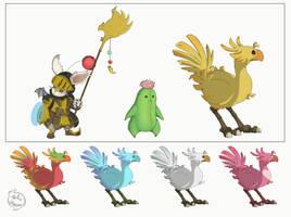 Final Fantasy by Phil-Crash-Murphy