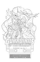 Guardians-of-the-galaxy-inks by Phil-Crash-Murphy