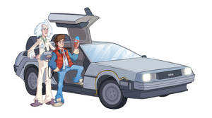 Back to the Future by Phil-Crash-Murphy