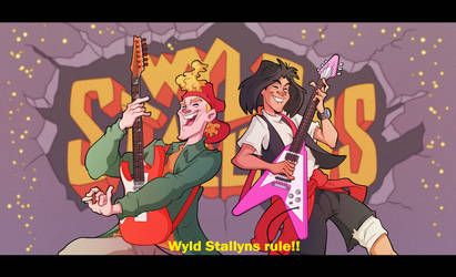 Bill and Ted by Phil-Crash-Murphy
