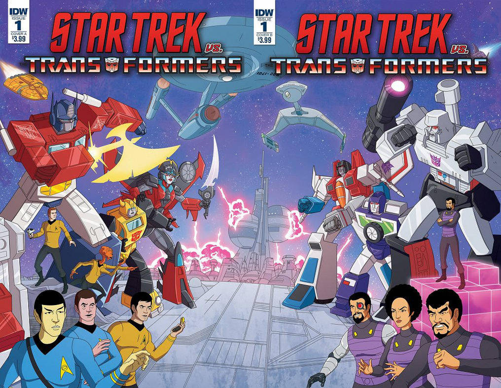 Star Trek vs Transformers by Phil-Crash-Murphy