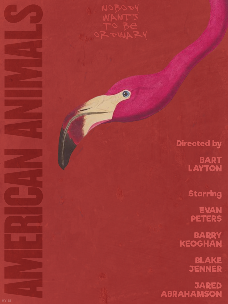 American Animals (movie poster) by haydenyale