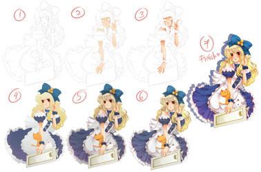 Coloring Process by Kurohime-29