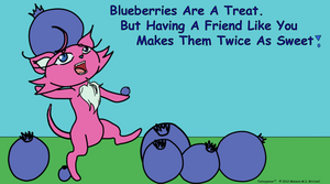 Felimpanion #2- Blueberries by Mel-Meiko-Mei-Ling