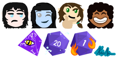DnD Discord Emoji Pack by Lockiezz on DeviantArt