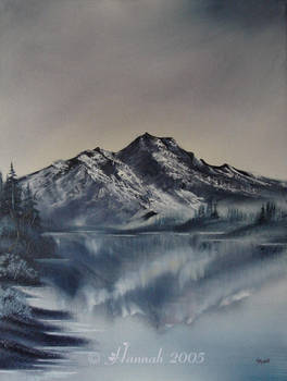 Mountain Reflection by GreenFlutterby