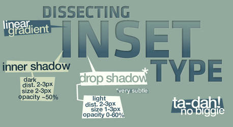 dissecting inset type by fiveless
