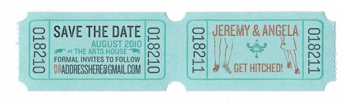 jeremy+angela: save the date by fiveless