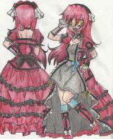 Re-make: Lolita Groudon by Urahana