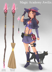 Magic Academy Awilix by BookmarkAHead