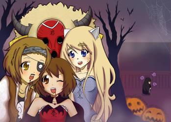 Houkago Halloween by HeartFullOfWine