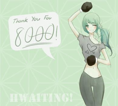 8000 by HeartFullOfWine