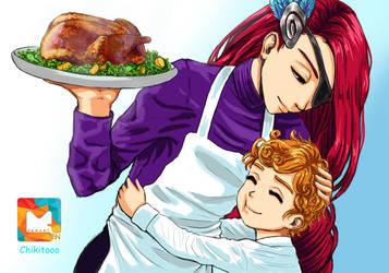Thanksgiving MLBB by chikitooo