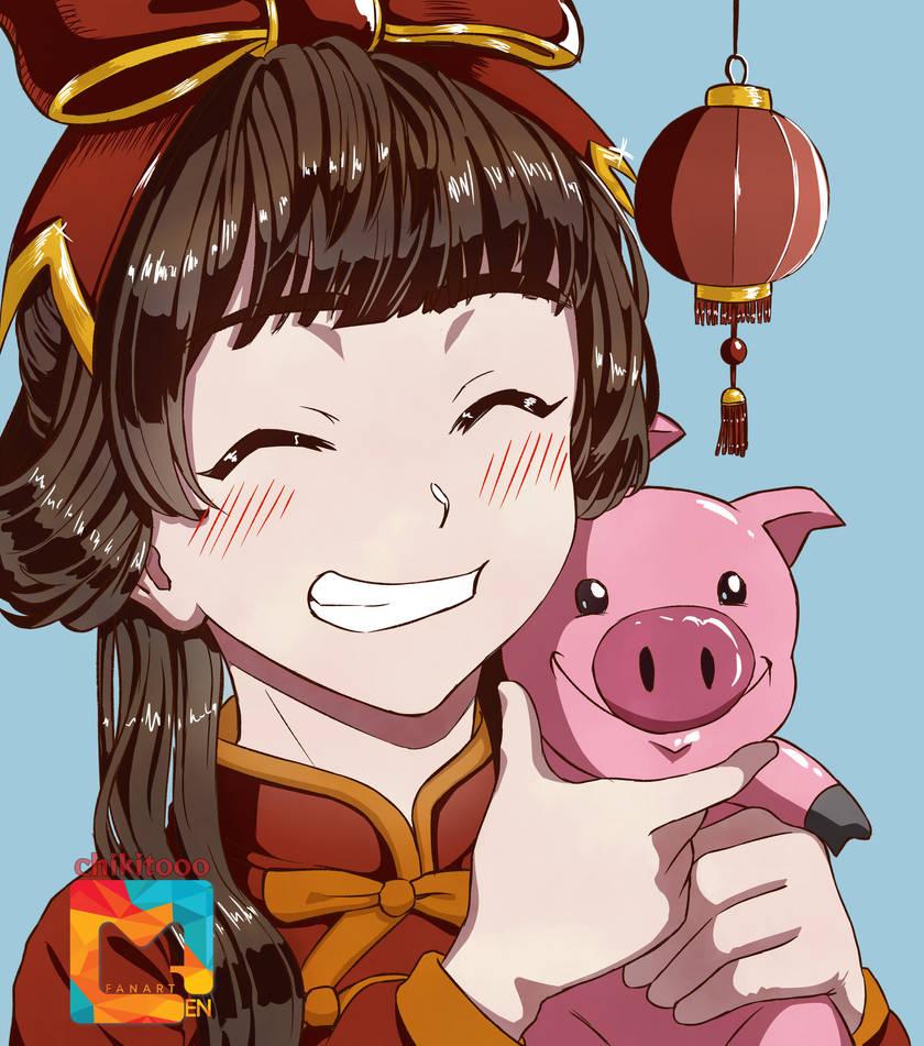 Change Chinese New Year by chikitooo