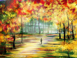 Autumn-landscape by Alena-48