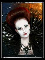 Portrait Gothic Lady by Alena-48