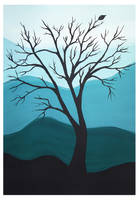 Tree alone by Alena-48