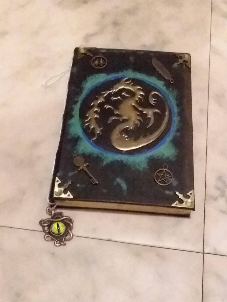 My Dragon Spell journal by UnicornLover2500